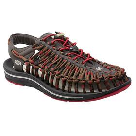 Keen Uneek Stripes - Sandales Homme - marron/rouge